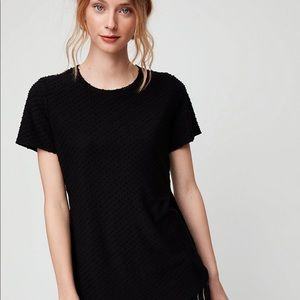 Wilfred Capucine Dotted Fabric T-Shirt W/Side Slit